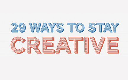 25 formas ser creativo