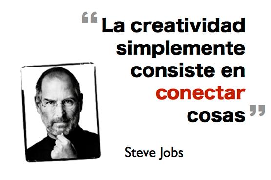 creatividad es combinar